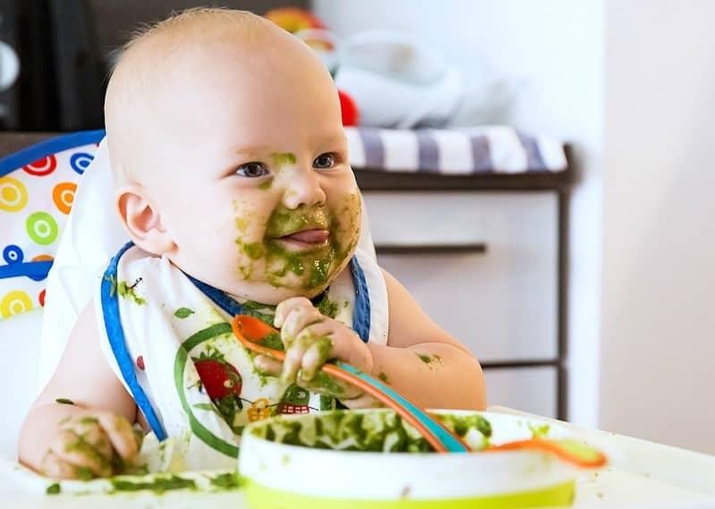 أطعمة الأطفال الرضع