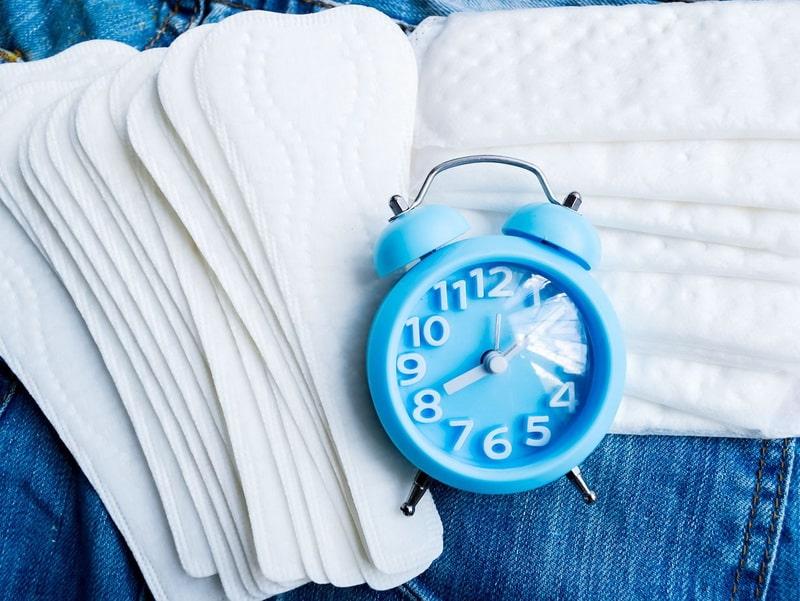 اضطرابات ومشاكل الدورة الشهرية وتأخر موعدها